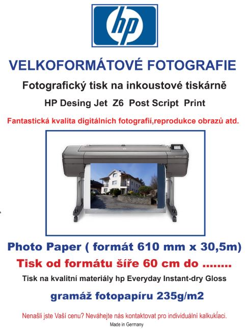 velkoformátové fotografie